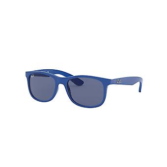 Ray-Ban Junior RJ9062S 7017/80 Matte Blue/Dark Blue Sunglasses