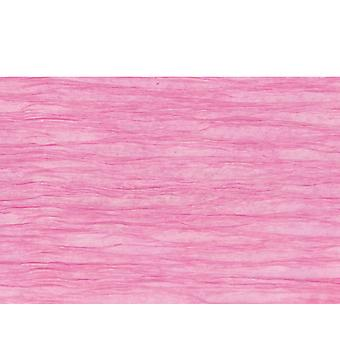 Light Fuchsia Floristry Crepe for Paper Flower Making Crafts
