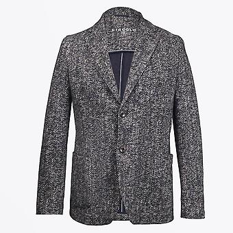 Circolo 1901  - Herringbone Stretch Blazer - Grey