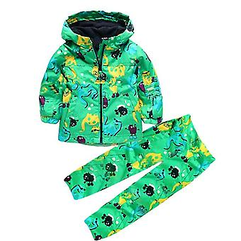 Hooded Raincoat Waterproof Set-Infant