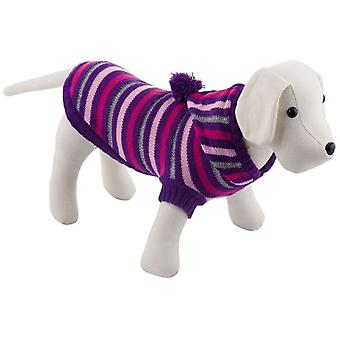 Nayeco Pompon Hat Jersey Lila (Dogs , Dog Clothes , Sweaters and hoodies)