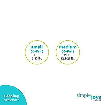 Simple Joys van Carter's Girls' 2-Pack Microfleece of 3-Pack Cotton Sleepbag, ...