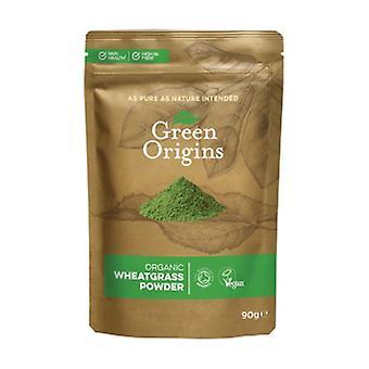 Økologisk pulveriseret grøn hvede 90 g