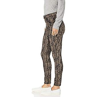 HUE Women-apos;s Ultra Soft High Waist Denim Leggings, Silver Mink, Small