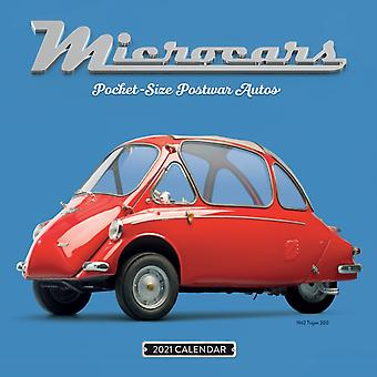 2021 Microcars Wall Calendar by Workman Calendars