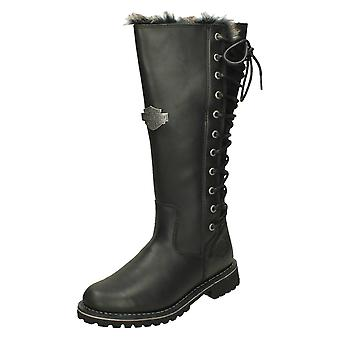 Ladies Harley Davidson Lace Up Back Detailed Boots Dorland