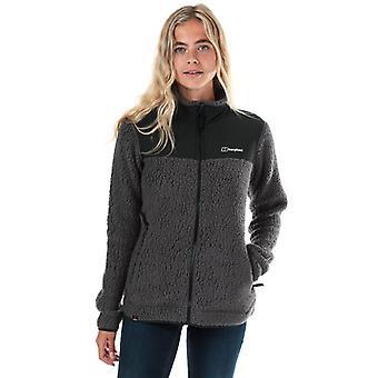 Women's Berghaus Tahu Polartec Fleece Jacket in Grey