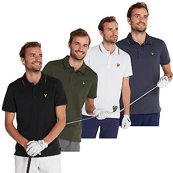 Lyle & Scott Mens 2020 Andrew Moisture Wicking Stretch Golf Polo Camicia