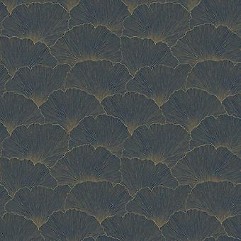 Remi Foliage Wallpaper Blue Holden 65682