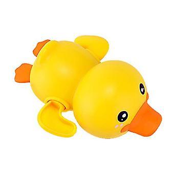 Baie baie duș baby clockwork înot- copii juca apa drăguț mic galben rață baie baie jucării pentru copil