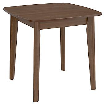 Adalyn Square Dining Table - Walnut