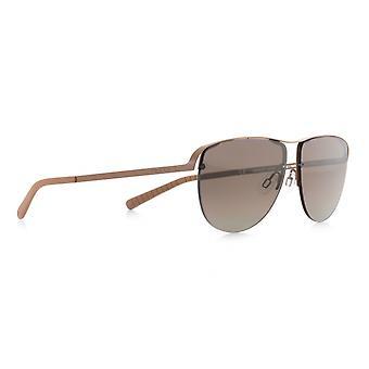 Sunglasses Unisex Sunset pilot beige/brown