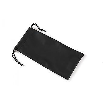 Eyeglass case Unisex fabric black (CWI1394)