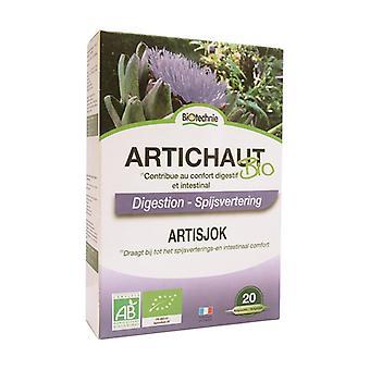 Organic artichoke 20 bulbs