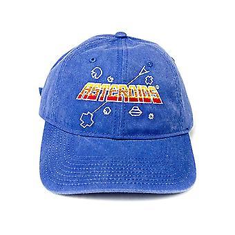 Baseball Cap - ATARI - Asteroids Low Profile Blue New BA06398ARIU