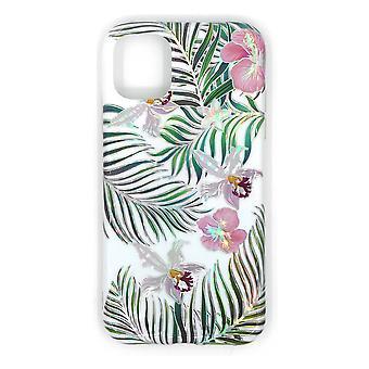 Stoßfestes Handygehäuse mit Halter, für iPhone 11 Pro Max - weiß/floral