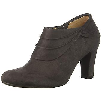LifeStride Womens corie Suede Almond Toe Ankle Fashion Boots