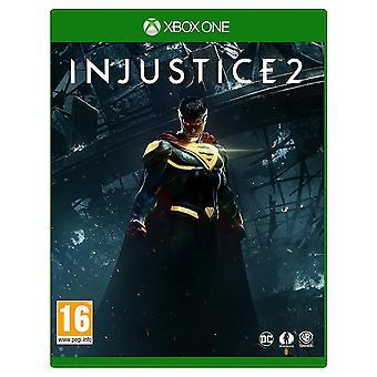 Jeu Xbox une injustice 2