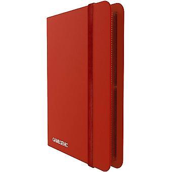 Gamegenic Casual Album 8-Pocket - Rojo