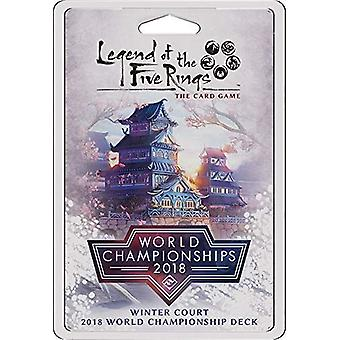 Winter Court World Championship Deck 2018: Legend of 5 Rings LCG