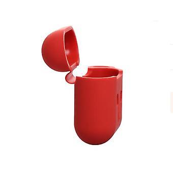 Caja AirPods 1/2 con cuerda y carcasas - Rojo