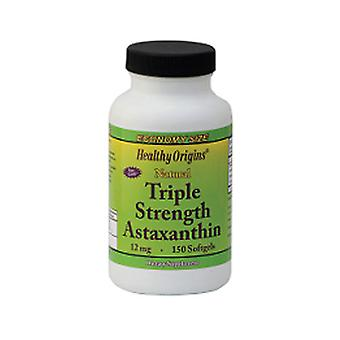 Healthy Origins Triple Strength Astaxanthin, 12 mg, 150 Soft Gels