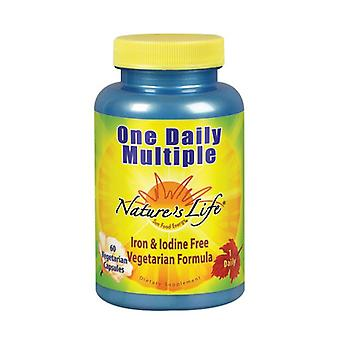 Nature's Life One Daily Multiple, 60 vcaps
