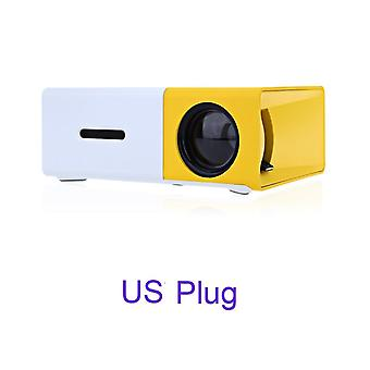 Mini Led/lcd Hdmi Usb Projector With Remote  (4.92 X 3.35 X 1.77 Inches)