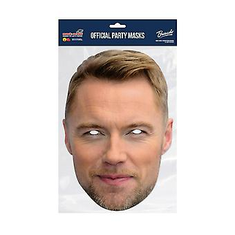 Masque-arade Ronan Keating Célébrités Party Face Mask