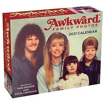 Awkward Family Photos 2021 DaytoDay Calendar by Mike Bender & Doug Chernack