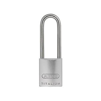 ABUS 86TI/45mm TITALIUM Padlock Without Cylinder 70mm Long SS Shackle