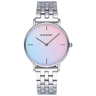 Radiant pacific blue watch for Analog Quartz Woman with stainless steel bracelet RA549201