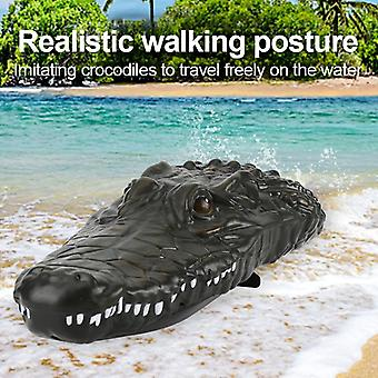 2 In 1 Rc Racing Boat  For Fishing And  Mini Crocodile Head Boats Fish Finder
