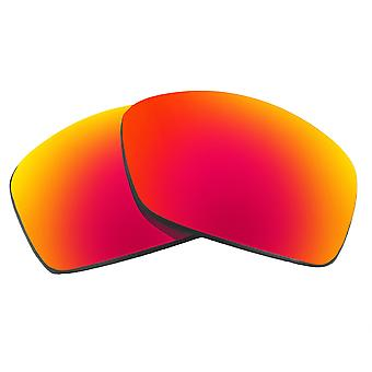 Replacement Lenses for Oakley Hijinx Sunglasses Anti-Scratch Red Mirror