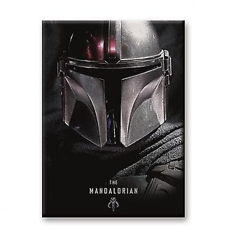 Star Wars Den Mandalorian Karaktär Hjälm Magnet
