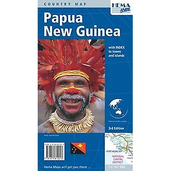 Papua New Guinea 2004 by South Pacific Maps Pty Ltd & Hema Maps
