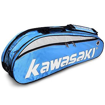 Badminton Single Shoulder Racket Sports Bags With Shoes, Outdoor Portable
