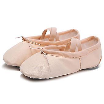 Leder/Tuch Indoor Training, Yoga-Praxis, Gym & Ballett Tanzschuhe