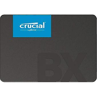 BX500 حاسمة 2 tb ct2000bx500ssd1(z)-تصل إلى 540 ميغابايت / ثانية (SSD الداخلية, 3d ناندو, ساتا, 2.5 بوصة) frustra