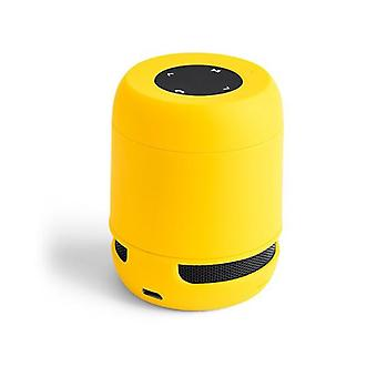 Bluetooth Speaker 3W USB Yellow