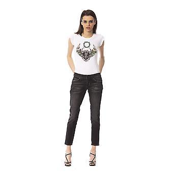 Black Jeans Frankie Morello Woman