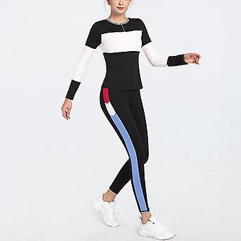 Ladies yoga séchage rapide costume de sport haute élastique vêtements YJ014