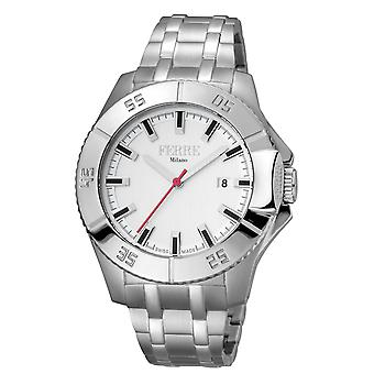 Ferre Milano FM1G085M0051 Men's MOP Dial Stainless Steel Watch