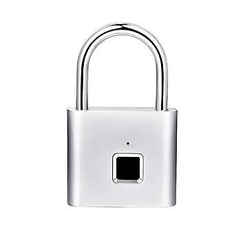 Keyless Usb Rechargeable, Door Lock For Fingerprint Smart Padlock