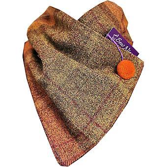 Dark Rust Tweed One Size by Sew Nice Neckwarmers