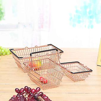 Portable Mini Supermarket Shopping Basket- Kids