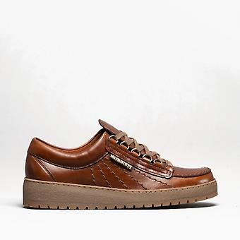 Mephisto Rainbow Heritage Mens Leather Originals Shoes Chestnut