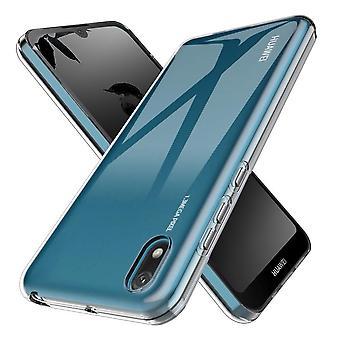 Coque Pour Huawei Y5 2019, Housse De Protection En Silicone De Haute Qualité, Transparent
