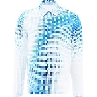 Prada Sc5421yiif0v5n Men's Light Blue Cotton Shirt