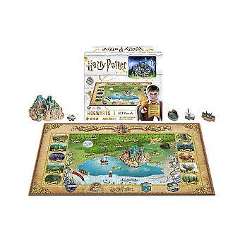 4D Cityscape Harry Potter: Mini Hogwarts (543 Pieces)